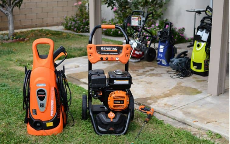 Pressure Washing Equipment and Tools