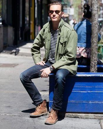 Guy in a street