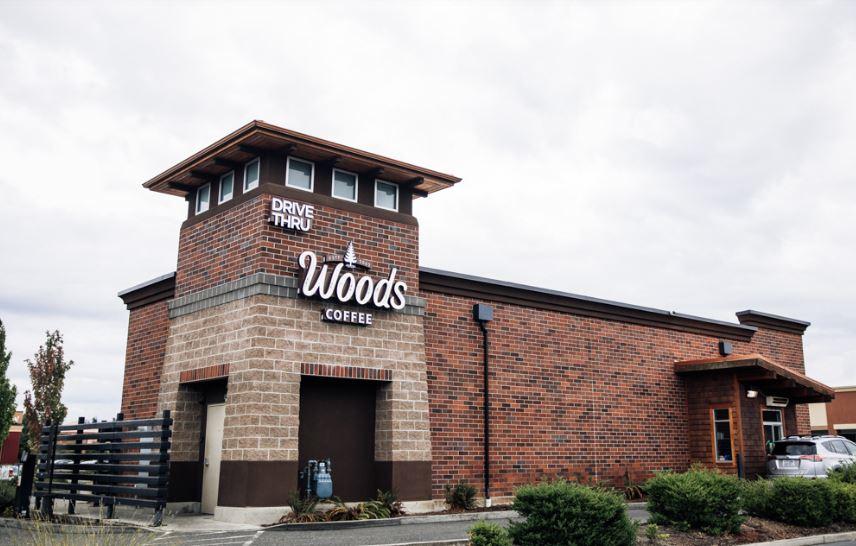 Woods Coffee Blaine Location