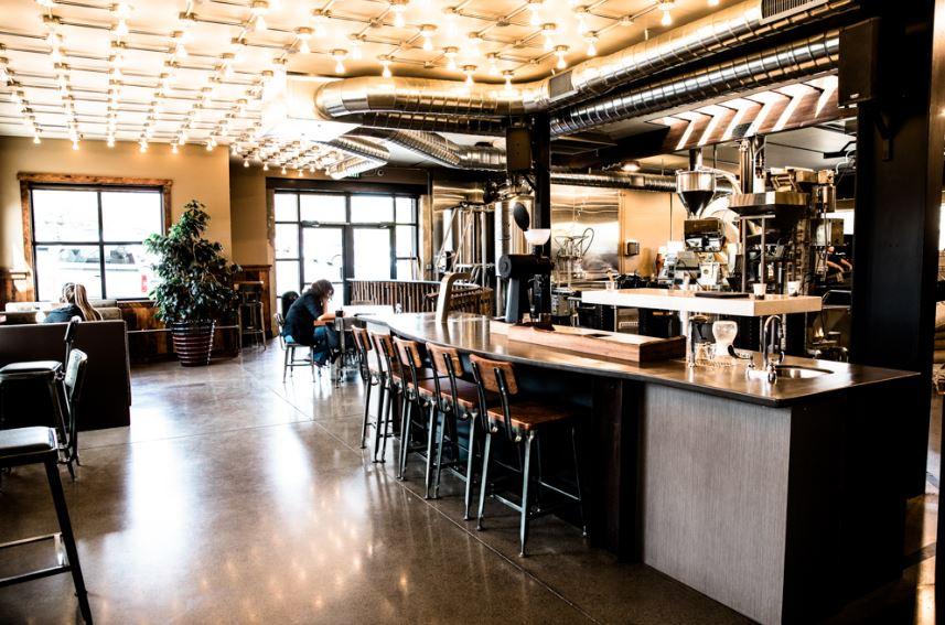 Woods Coffee Interior