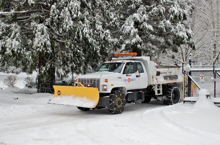 Winter Equipped Truck