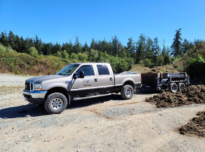 BL Landscapes Truck