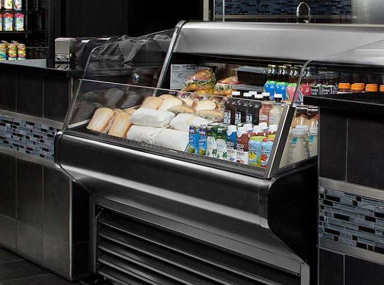 Deli case equipment