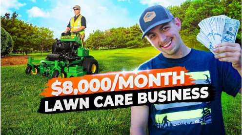 Legends lawn care business