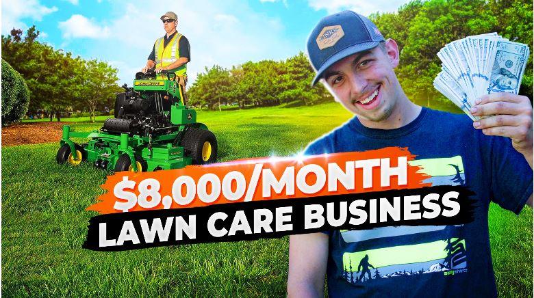 Legends lawn care business