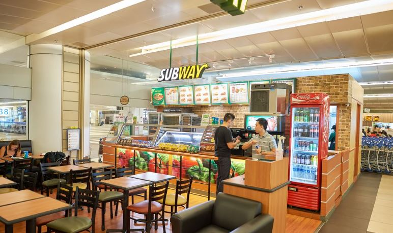 Subway deli franchise