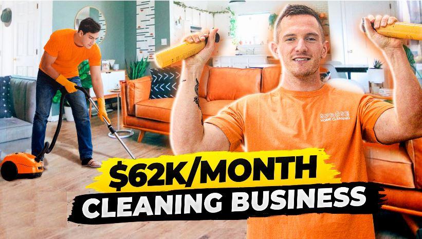 Corey Edmon's Cleaning Business