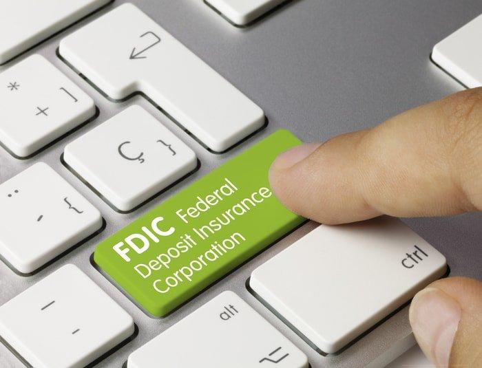 Keyboard with FDIC print