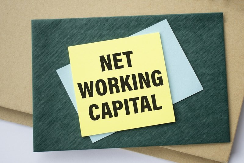 A yellow paper with the words Net Working Capital
