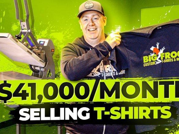 Big Frog tshirt business