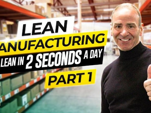 Lean manufacturing with Paul Akers