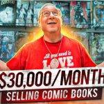 Comic book store