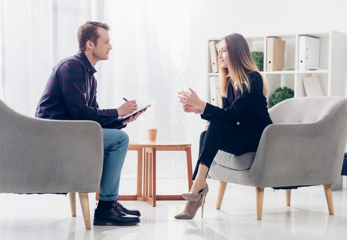 An interview with a business owner